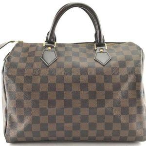 Louis Vuitton Speedy 30 Damier Ebene